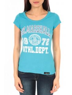T-Shirt Official US Marshall FT126 Bleu