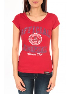 T-Shirt Official US Marshall FT110 Rouge