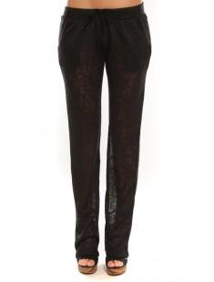 Pantalon By La Vitrine BLV01 Noir - vetement femme