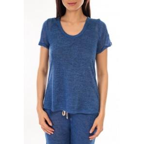T-Shirt BLV07 Bleu