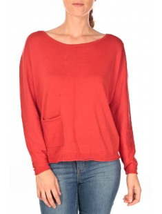 Basic structure pullover Rouge