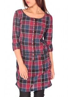 Flanell dress color - vetement femme