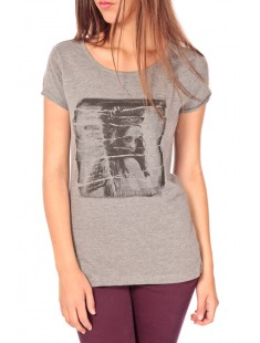 T-shirt with print Gris