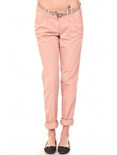 Pantalon Ceinture Rose