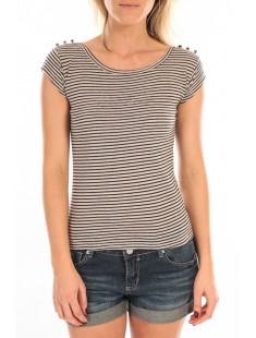 T-Shirt Jeny Rayé Bleu