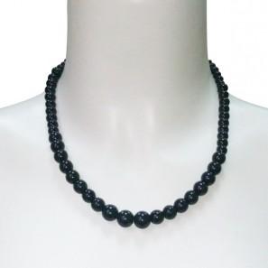 Collier Boules Noires 203341 Noir