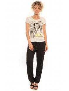 T-Shirt Rome Vlatka S/S EX5 Snow White/W.Safety