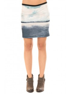 CLOUD HW MINI SKIRT Corsair Bleu - vetement femme