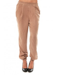 KANIO NW LOSSE PANT Maghony Rose - vetement femme