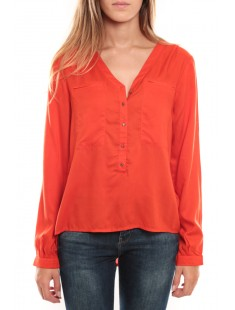 Horse LS Top Orange - vetement femme