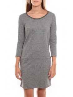 Freya 3/4 Short Dress Argent - vetement femme
