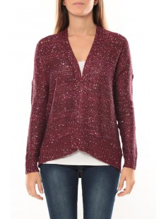 Sevilla multi sequins Cardigan 10094137 Figue - vetement femme