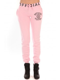 Jogging OFFICIAL US MARSHALL Rose - vetement femme