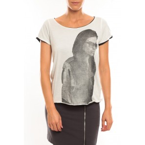 Tee shirt Too Cool S/S Top it 10100655 Blanc