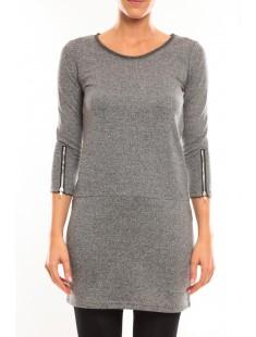 Robe Freya 3/4 Short Dress 10097250 Gris