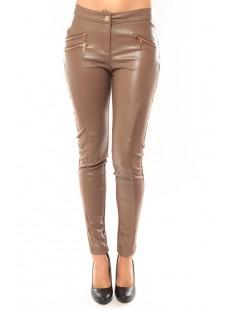Pantalon Lui Zacco T604 Marron - vetement femme