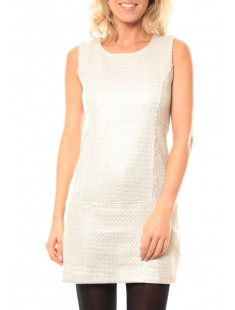 Robe JRM 1402 Blanc - vetement femme