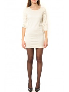 Robe Noemie Blanc - vetement femme