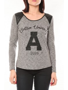 Pull E1325 Gris