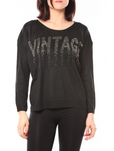 Pull Vintage & Dressing 8233 Noir