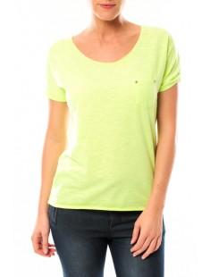 Tee shirt S13090 Jaune - 1 acheté = 1 offert